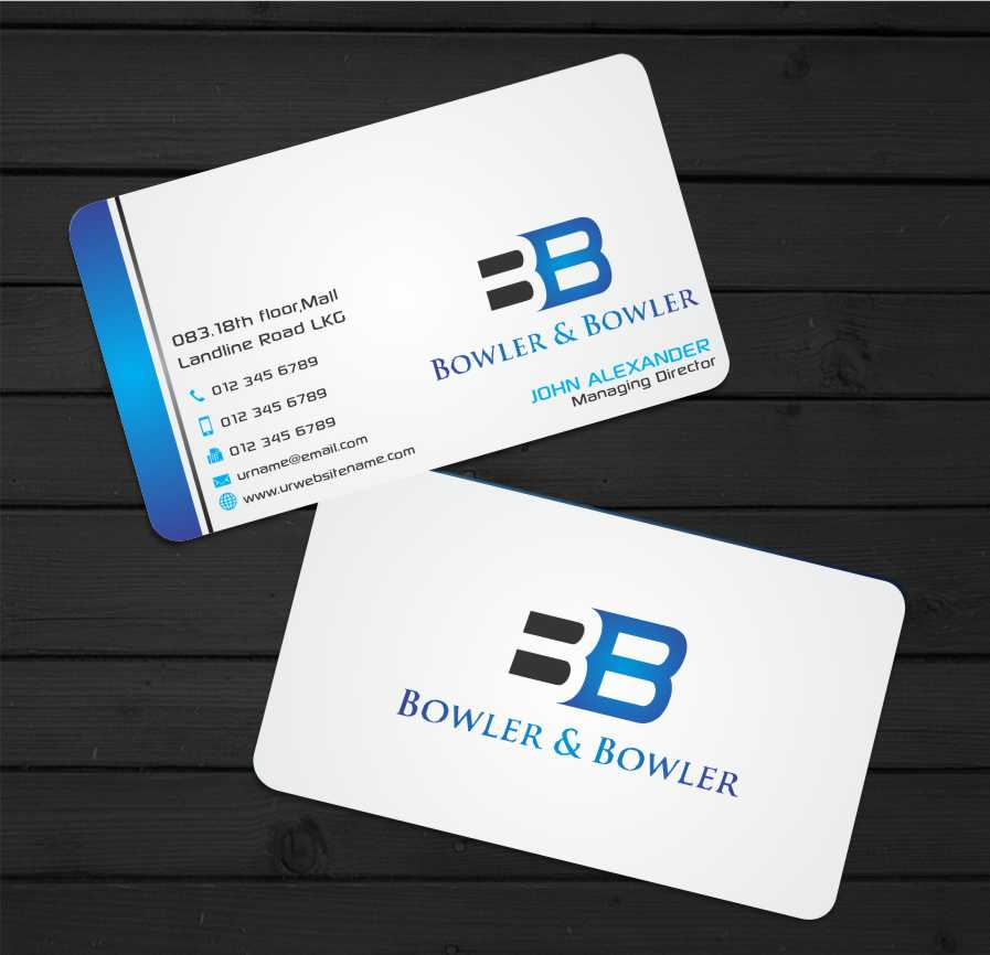 Law Firm Business Card Design for a Company by zarnab | Design #3418926