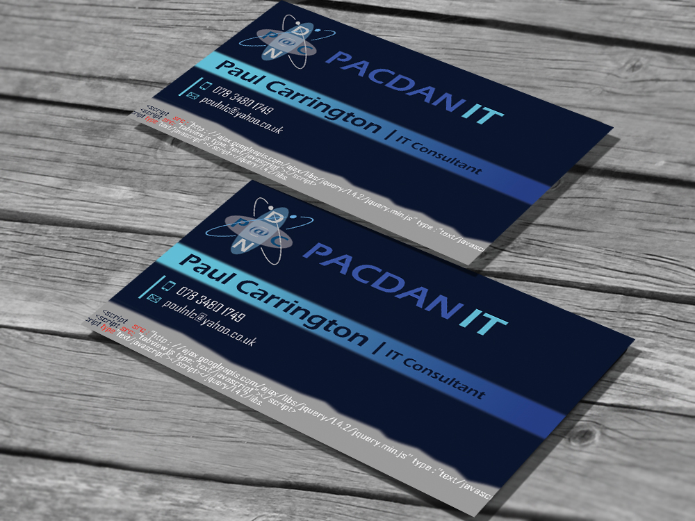 Business business card design for pacdan it limited by jayam13 business business card design for pacdan it limited in united kingdom design 3457787 reheart Images