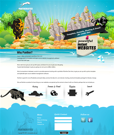 Insect Web Page Design 843697