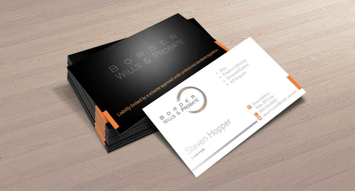 Modern, Elegant, Law Firm Business Card Design for a Company by ...