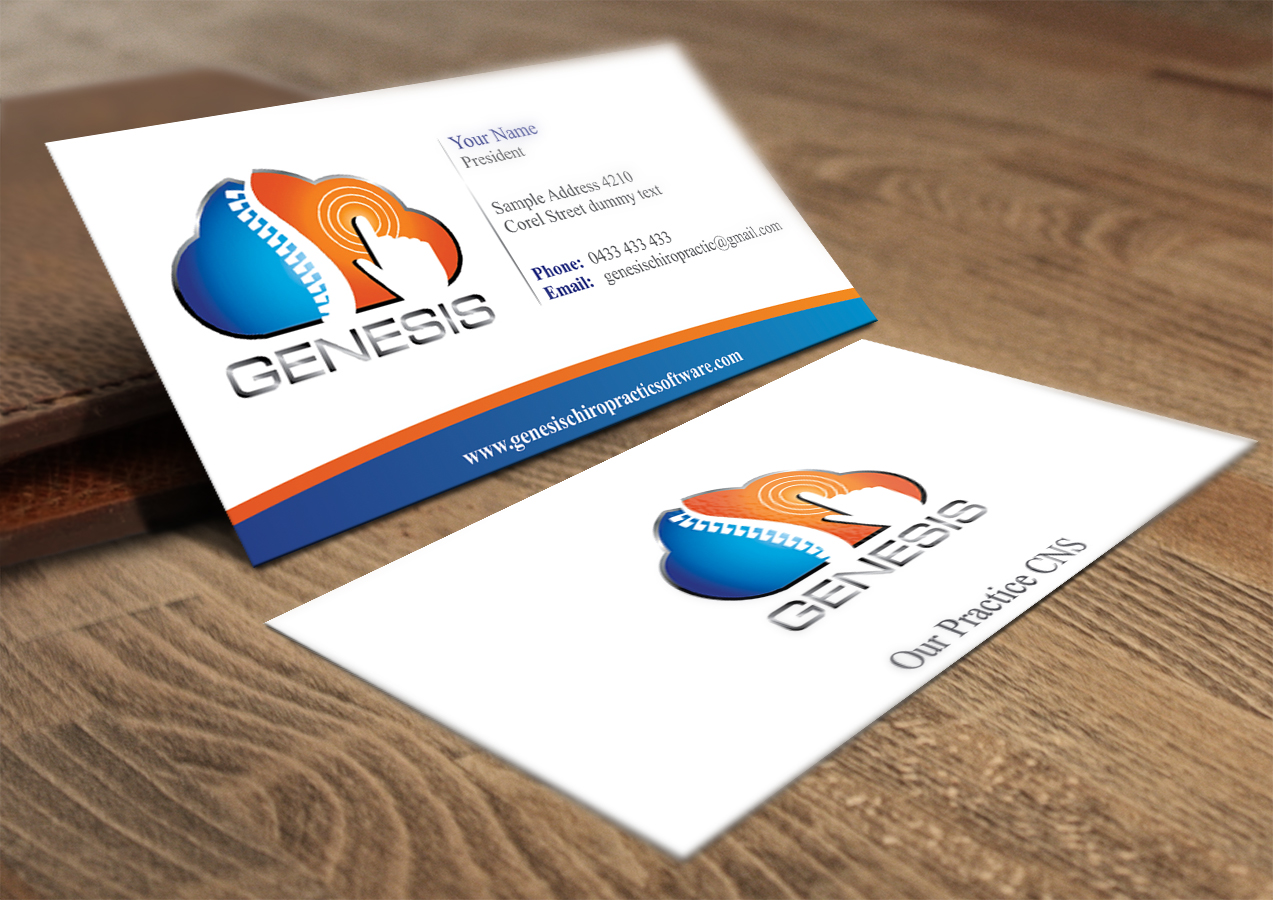 Business Card Design for Andrew Kropff by InfiniteDesign   Design ...