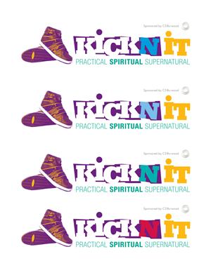 'Kickn It' | Logo Design by Mauve Designs