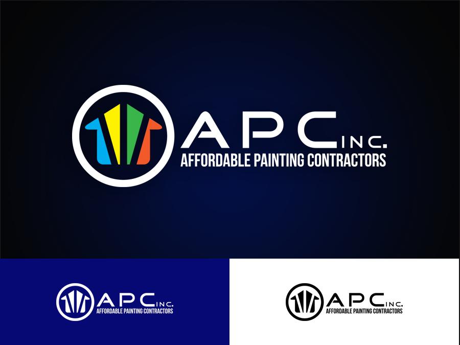 Residential Logo Design For Affordable Painting Contractors Inc Or - Local painting contractors