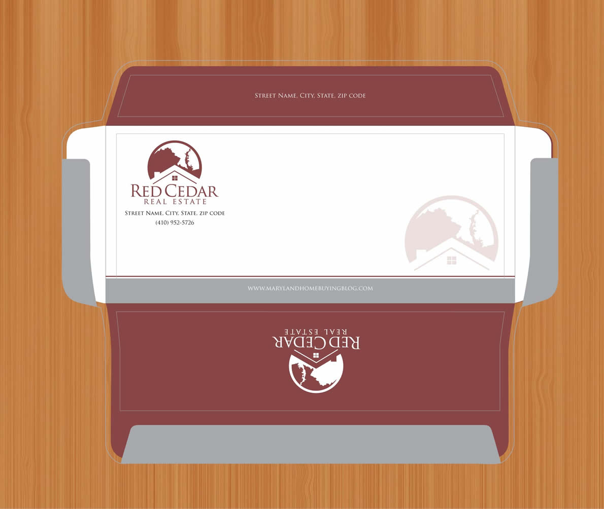 Masculine Conservative Envelope Design For Countrywide Sports By Sbss Design 848802