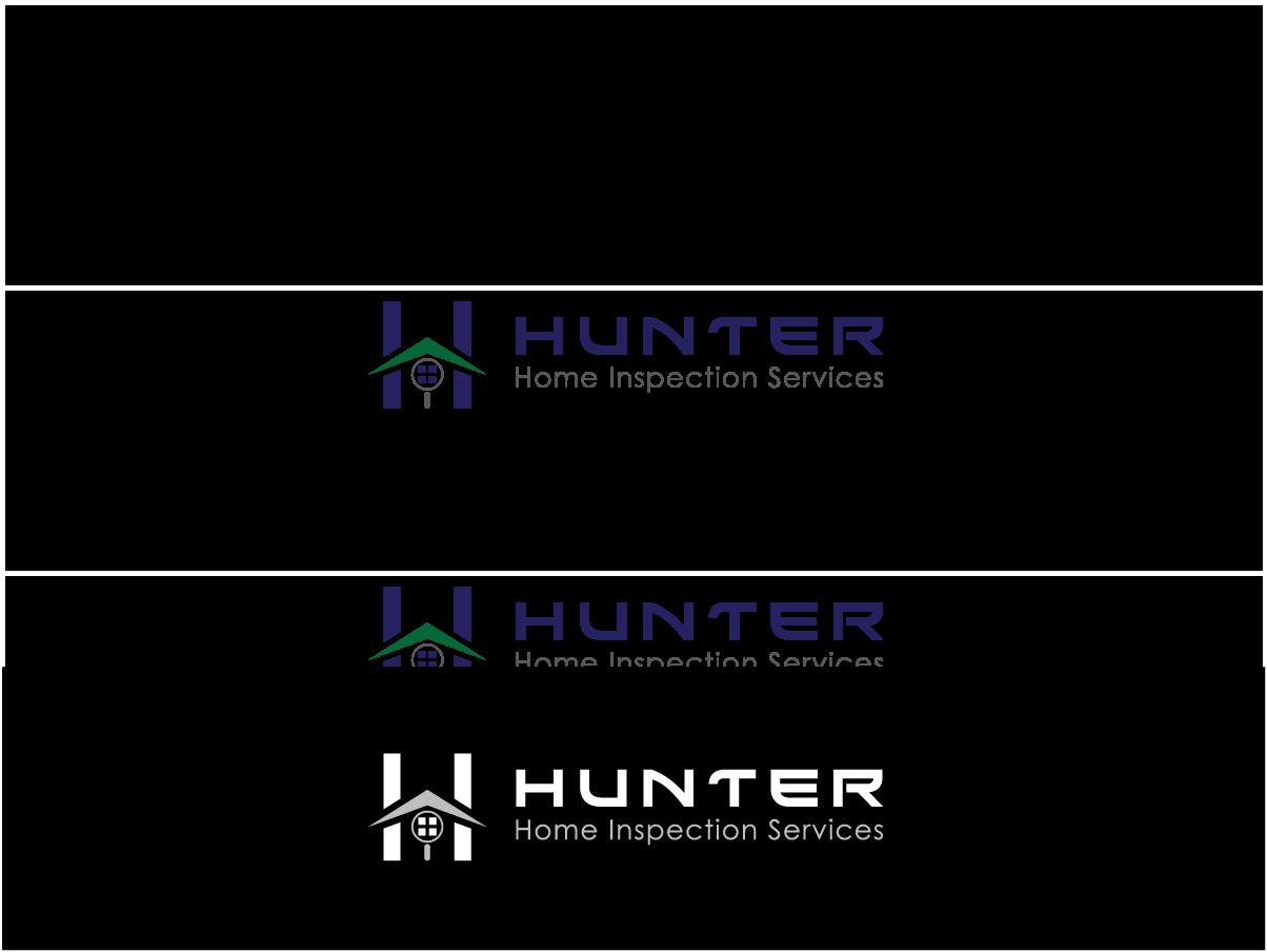 Logo Design By Ajay Soni For Hunter Home Inspection Logo   Design #3468899