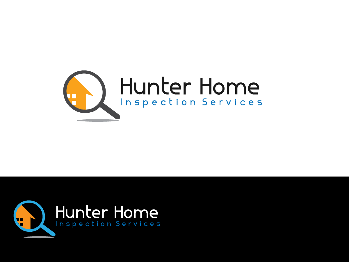 Logo Design By Anyl Thapa For Hunter Home Inspection Logo   Design #3489311