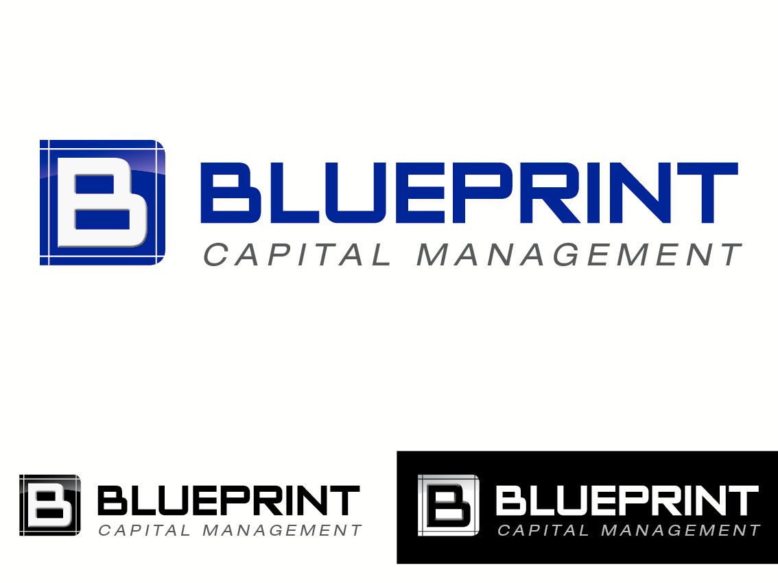 Elegant playful financial logo design for blueprint capital elegant playful financial logo design for a company in united states design 854514 malvernweather Image collections