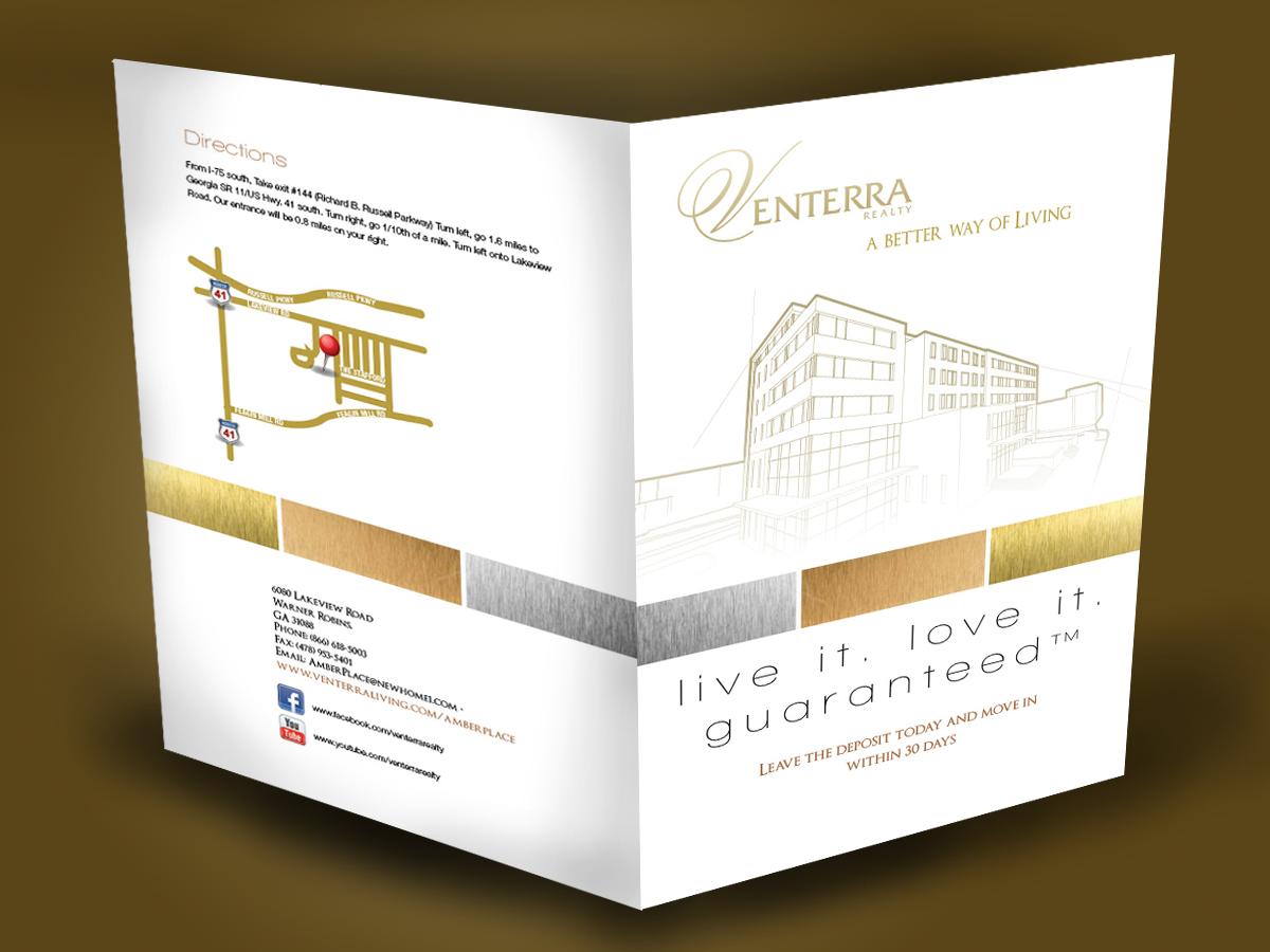 34 professional serious apartment brochure designs for a for Apartment brochure design