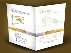 Professional Serious Apartment Brochure Designs For A Apartment