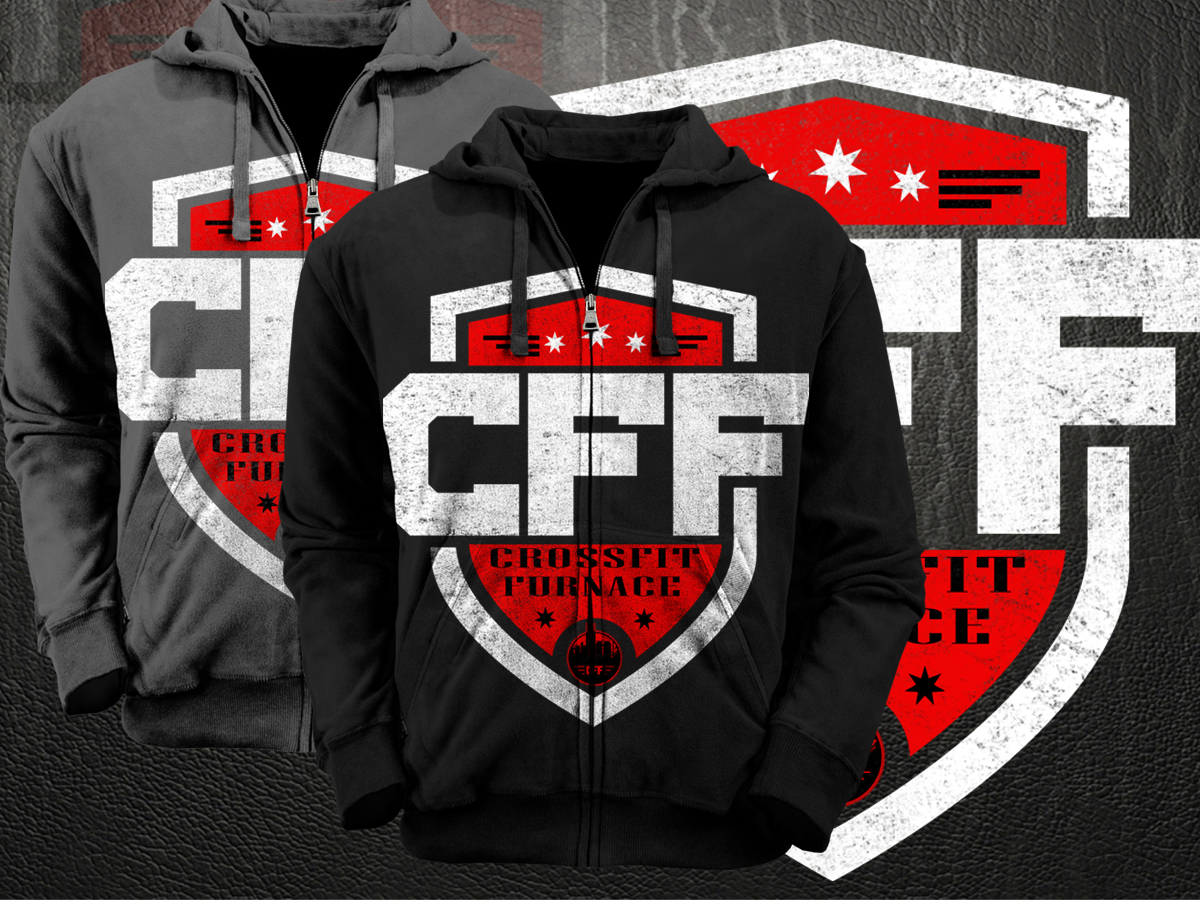 Design t shirts hoodies - T Shirt Design Design 3500910 Submitted To An Australian Crossfit Box Needs