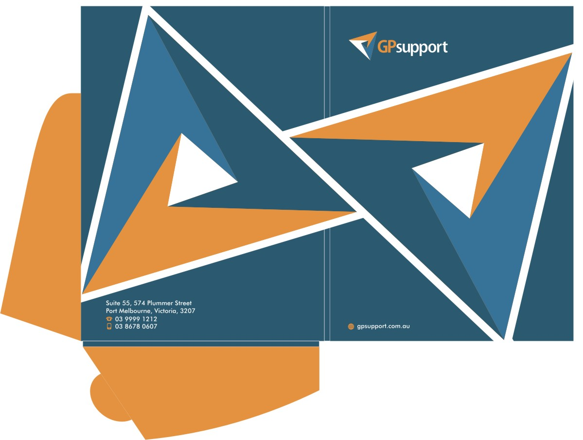 Serious Professional Stationery Design for GPsupport by Sushma – Proposal Cover Page Design