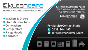 New Business Card For Kleen Care 37 Business Card Designs