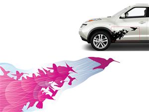 Sticker Design by P.O.Design - Unique and stylish car graphics