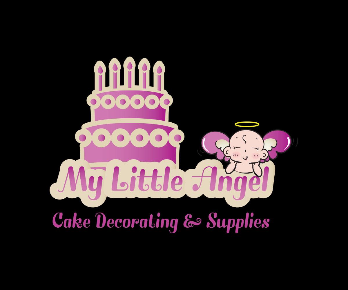 Cake Decorating Supplies Mascot