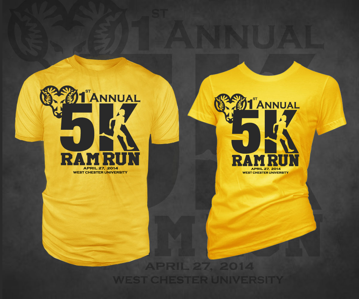 5k Race T Shirt Designs T Shirt Design Design For Tracey