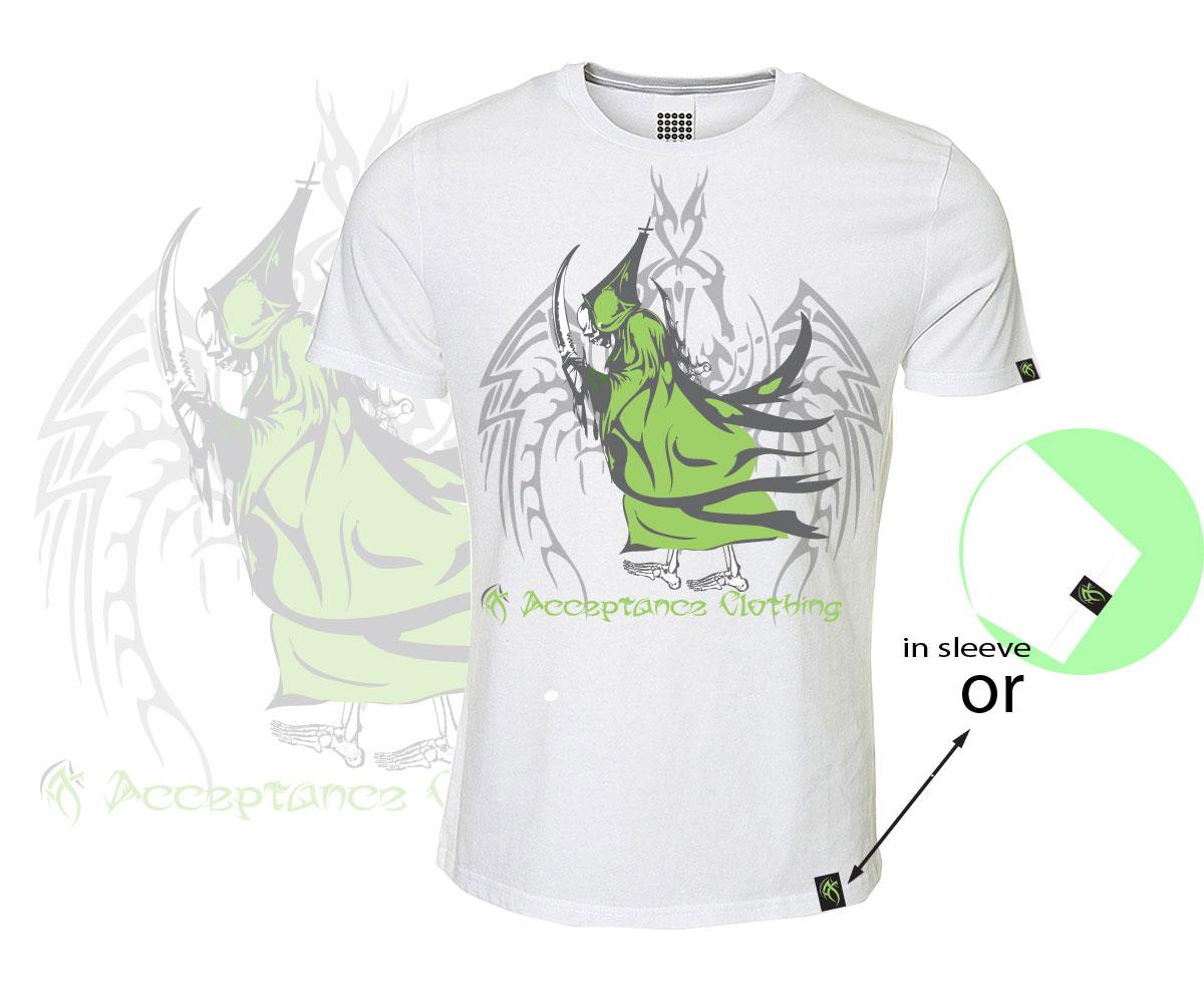 T Shirt Design For Acceptance Clothing By Spycroc Design