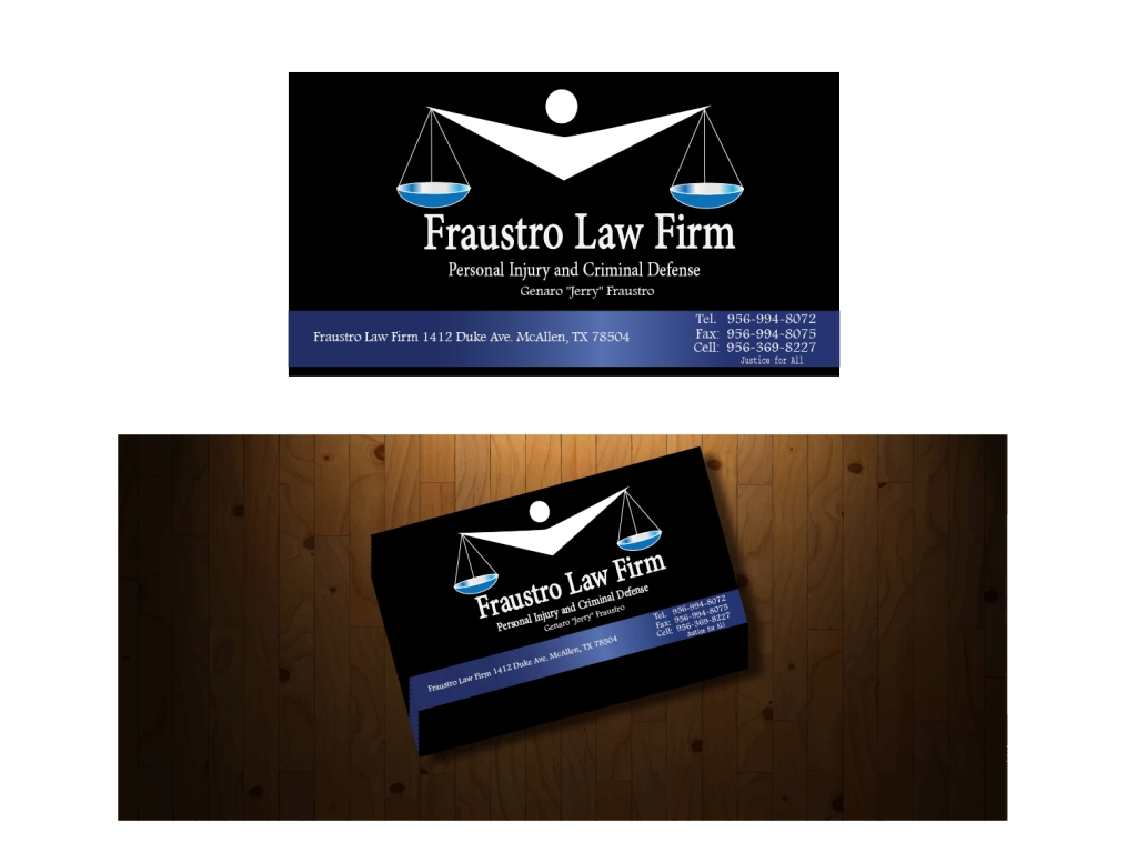 23 Business Card Designs | Conservative Business Card Design Project ...
