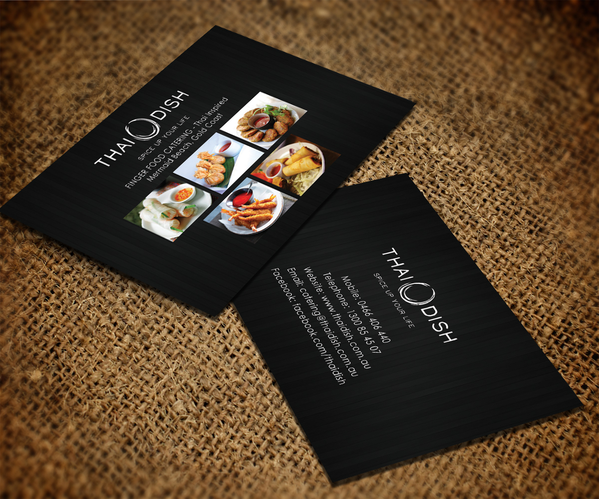 Business Card Design for Thai Dish by Smart Designs | Design #3450158
