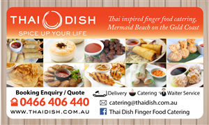 Business Card Design By Adiazudin For Thai Dish 3453360