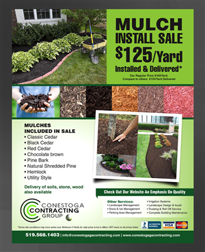 Conestoga Contracting In Need Of Monthly Newsletter Design By Laxman2creative