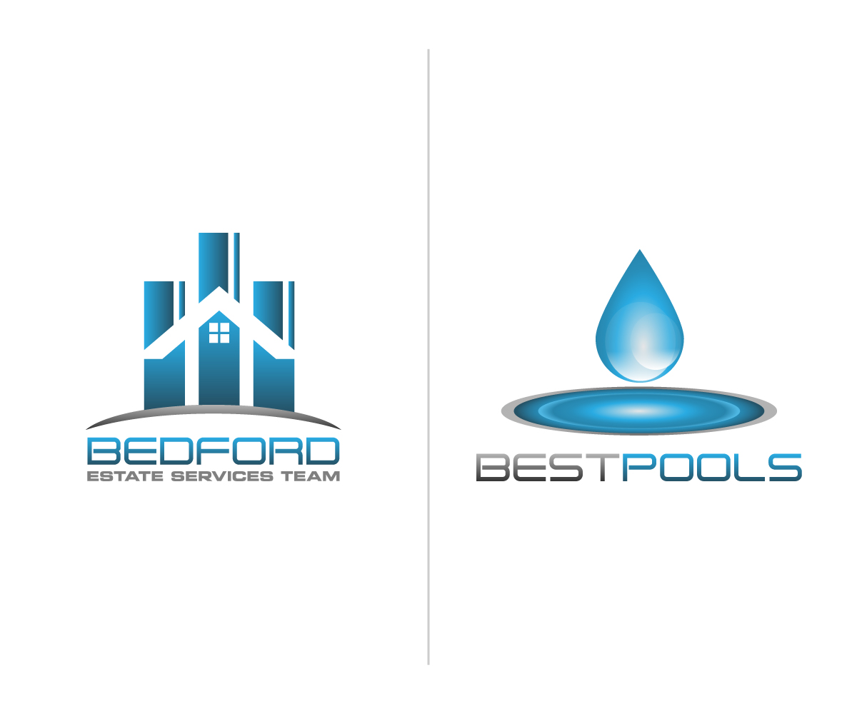 Swimming pool company logos the image for Design firm