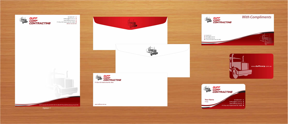 stationery design by sbss for this project design 862564
