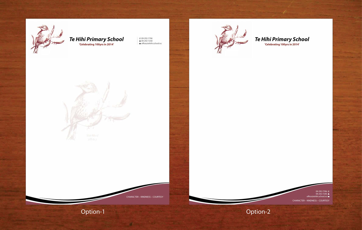 Elegant Personable School Letterhead Design For A Company In New Zealand