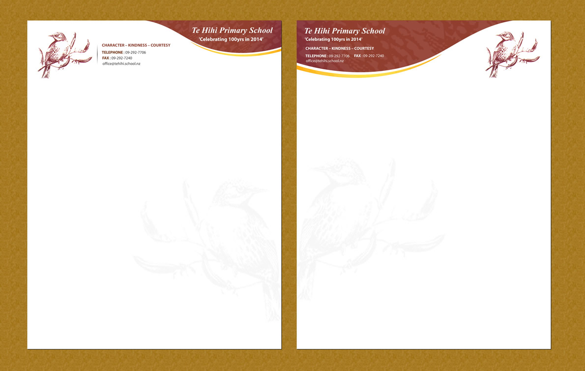 Elegant Personable Letterhead Design For Natasha Yates By