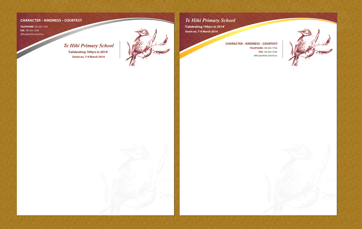 elegant personable letterhead design design for natasha yates a