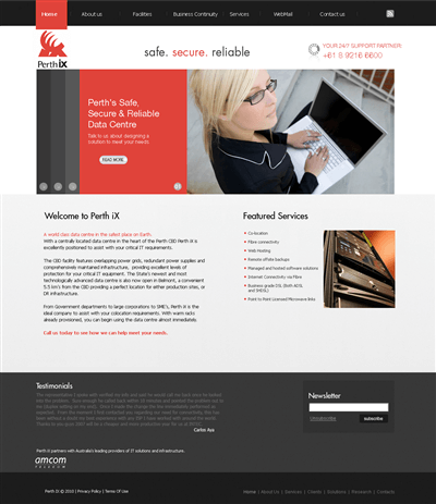 Professional Construction Web Design 87836