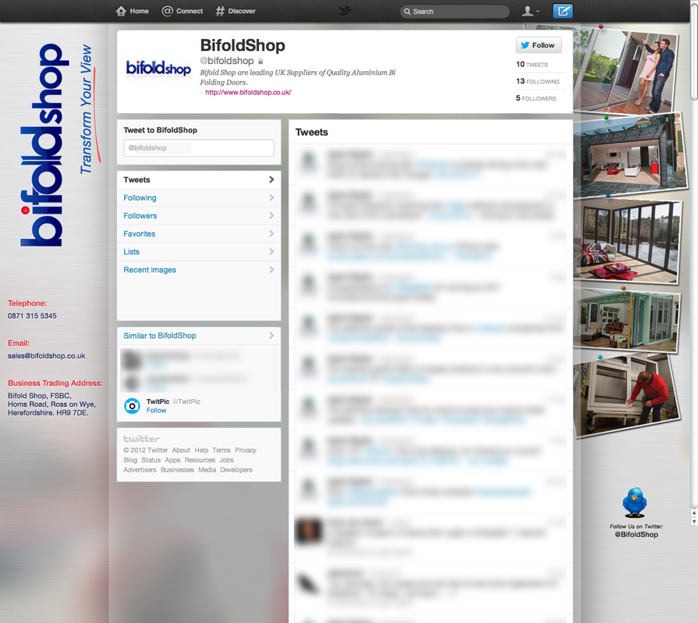 Modern Professional Shop Twitter Design For A Company By Bogglins Design 874525