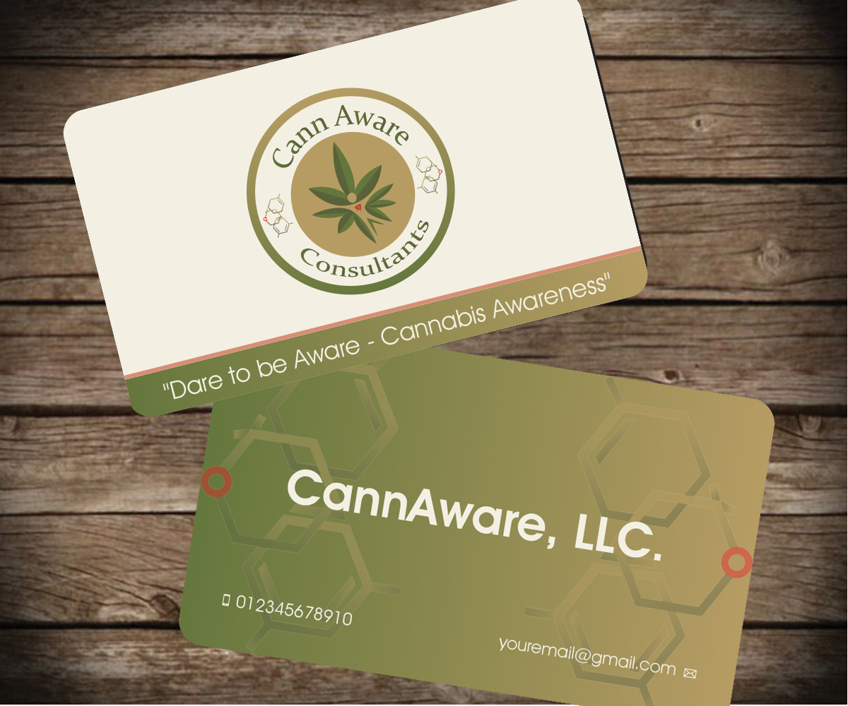 Bold, Playful, Business Business Card Design for CannAware, LLC by ...