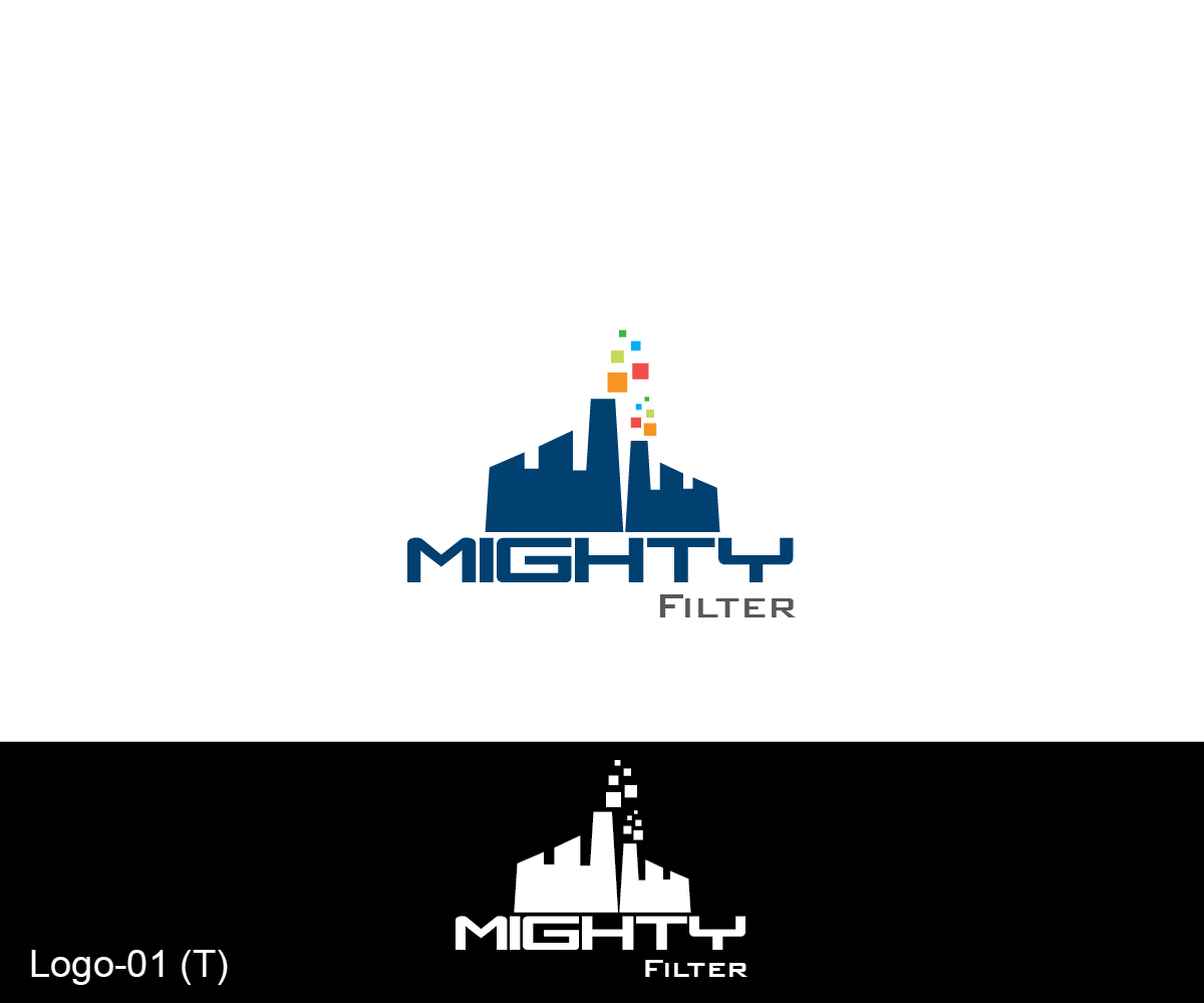 logo design for mighty filter by esolbiz design 3469924