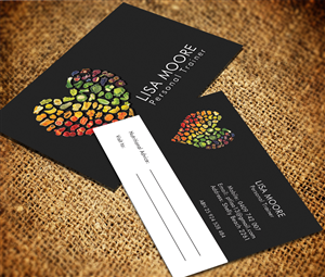Professional Nutrition Business Card Designs For A Nutrition - Personal trainer business cards templates