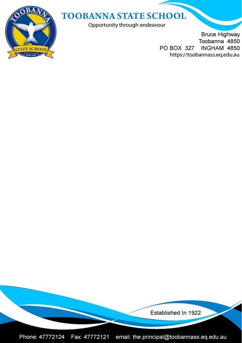 Modern feminine school letterhead design for toobanna for Australian design firms