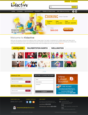Web Design by Mayank Patel - Modern, crisp, funky web 2.0 site required for ...