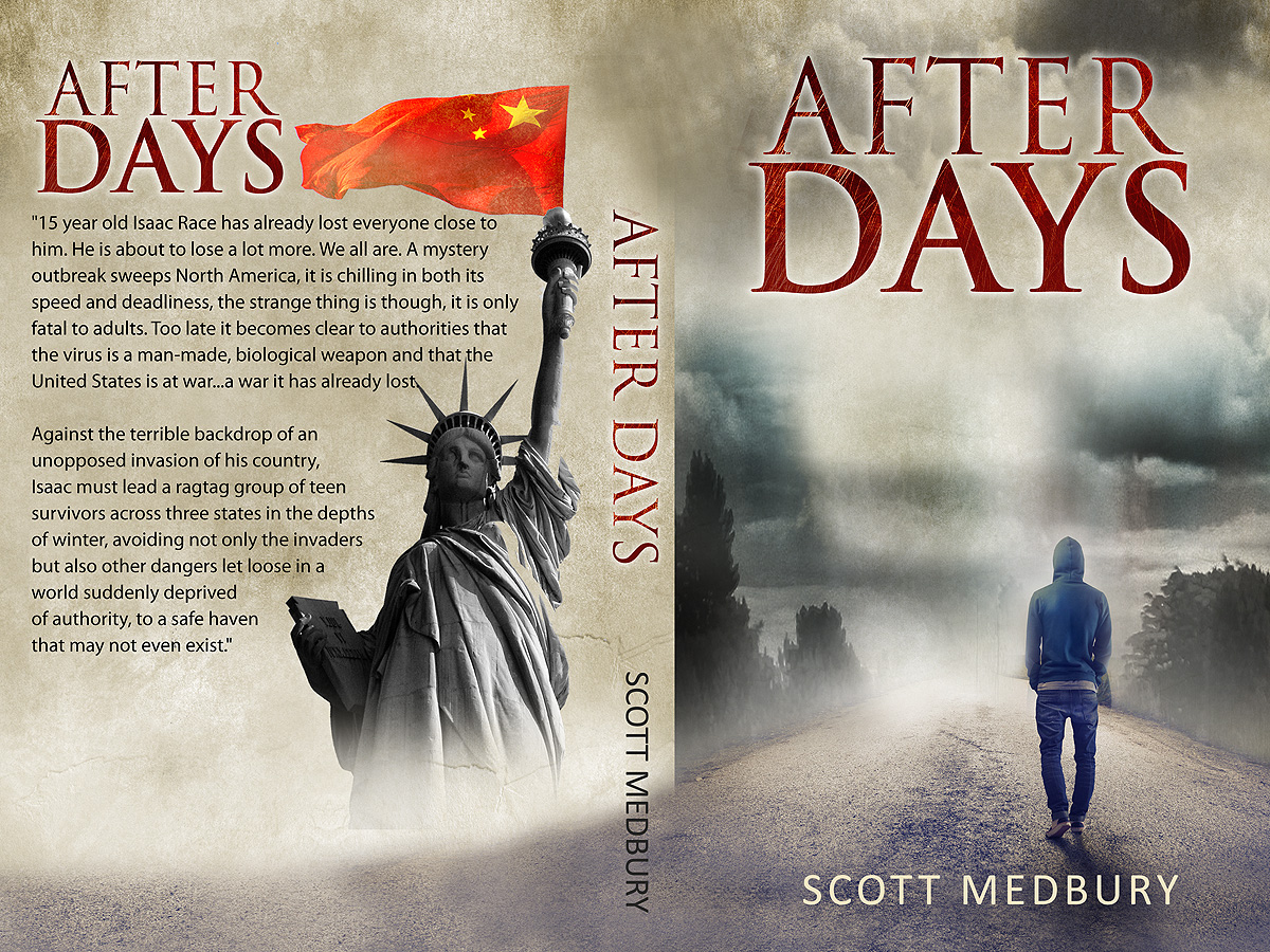 Cover Pictures For Book : Bold serious book cover design for scott medbury by