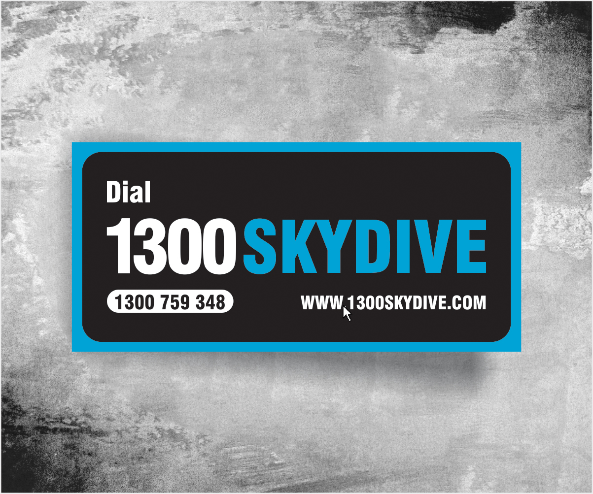 Sticker Design for Sydney Skydivers by Raman | Design #3542994