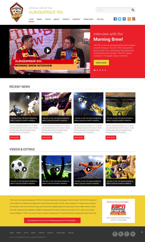 Bold masculine web design for maverick web video by pb for Masculine web design