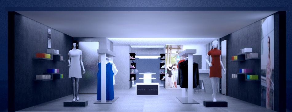 elegant modern 3d design for anupama singal by creative