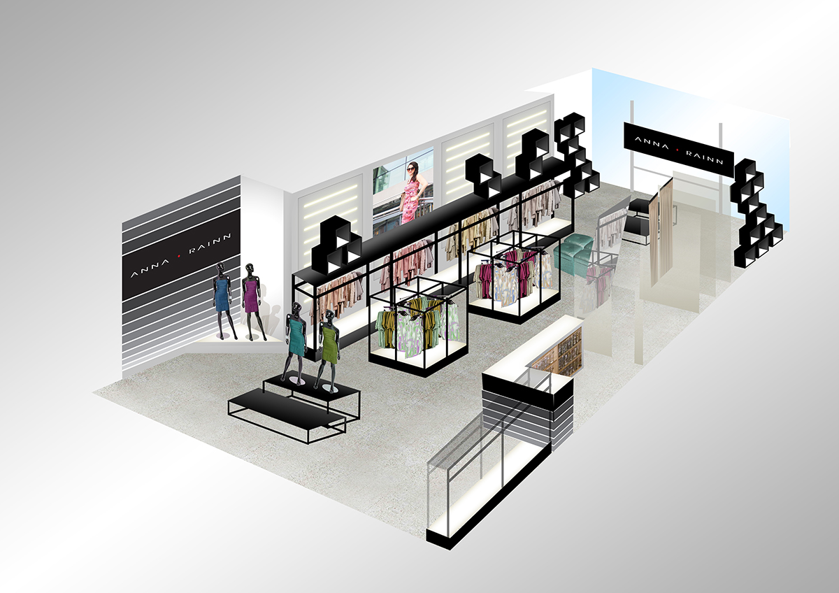 Department Store Floor Plan 15 Elegant Modern Fashion 3d Designs For A Fashion