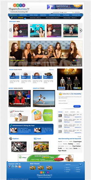 Web Design by webxvision - Web Design for US Hispanic Business Community