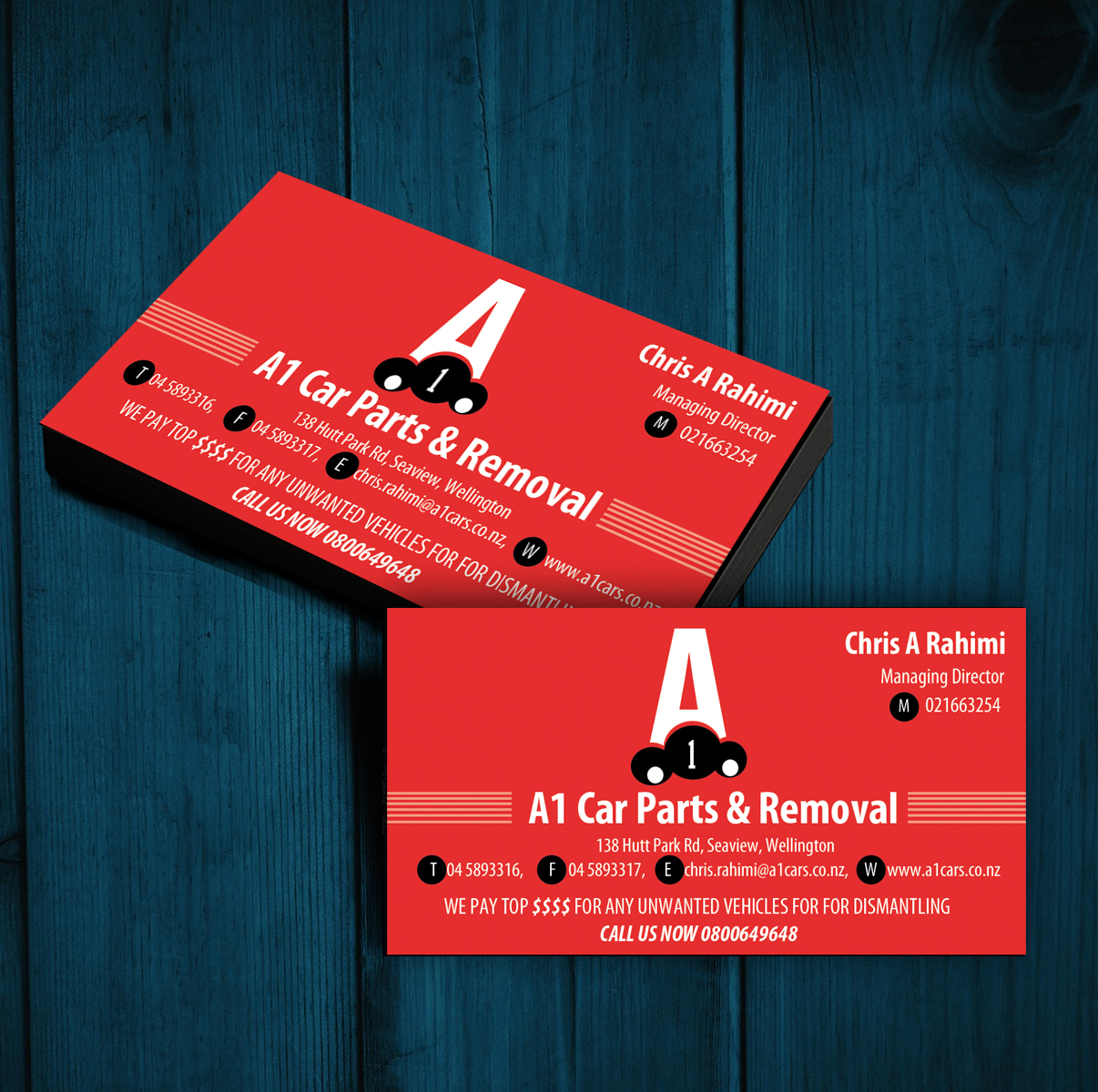 Business Card Design for Ali Rahimi by uk | Design #3489257