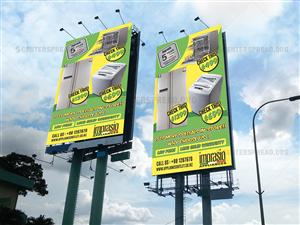 Billboard Design by CENTERSPREAD