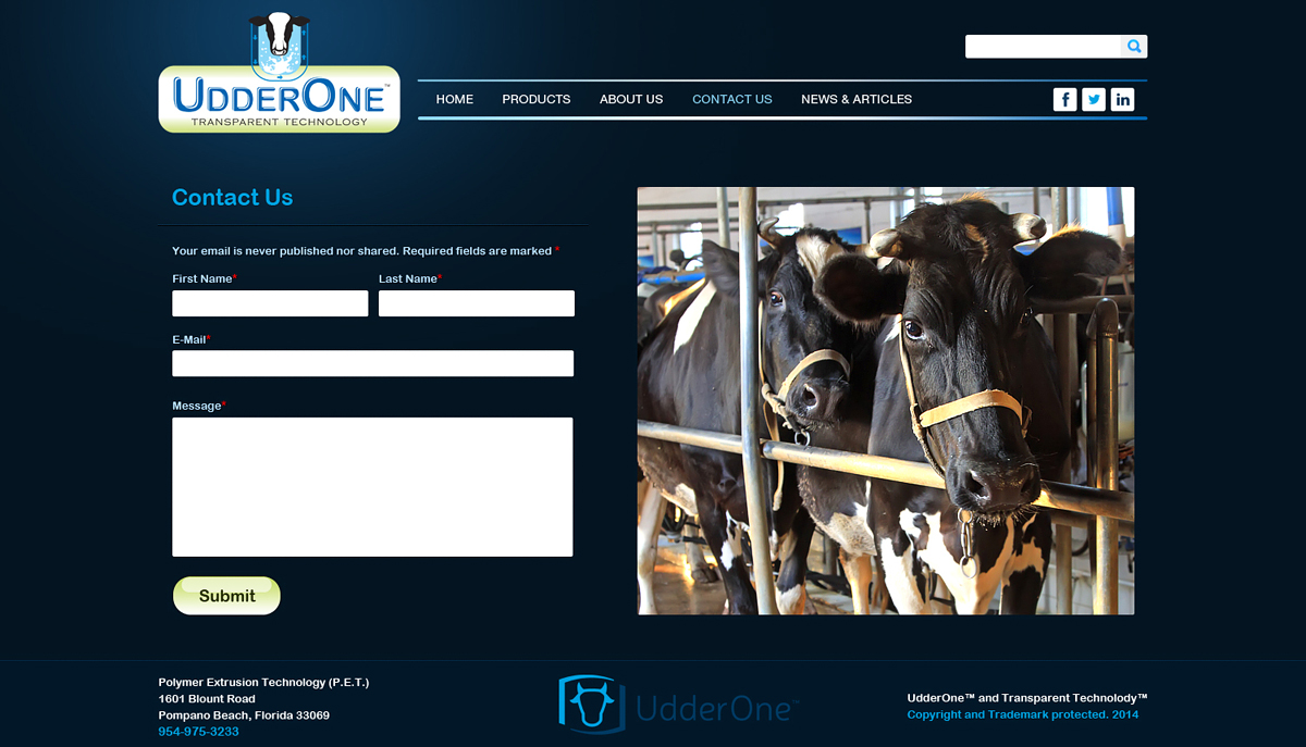 Serious, Traditional, E-Commerce Web Design for UdderOne by Latest ...