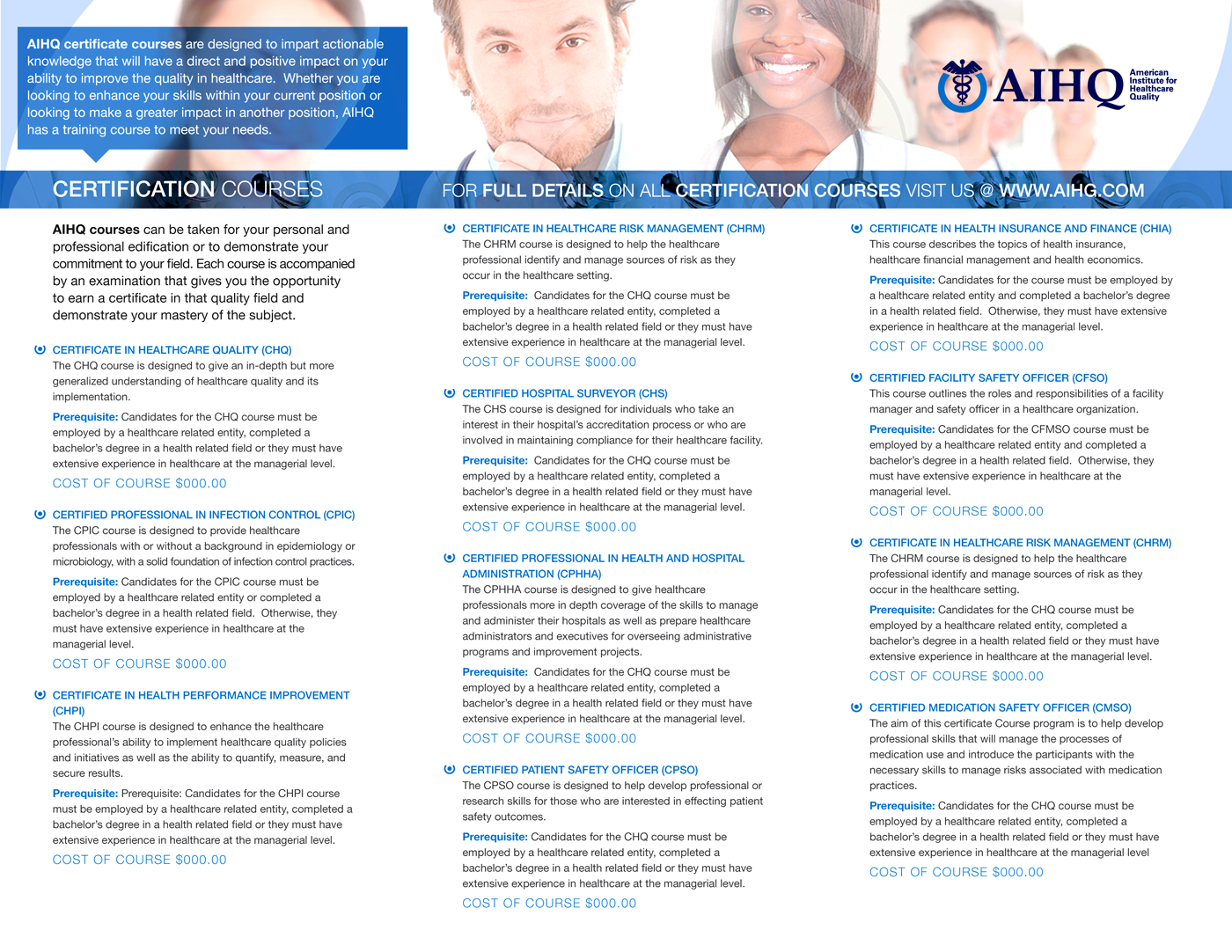 Professional, Serious, Healthcare Brochure Design for asdfasdf by ...
