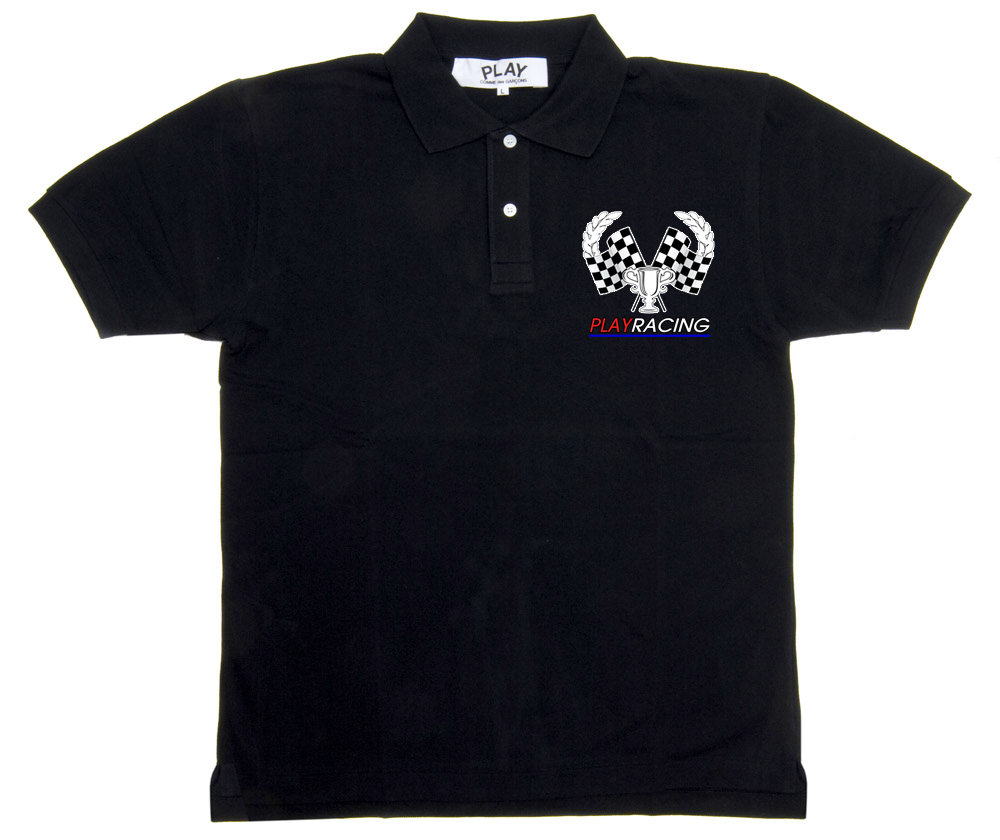 Shirt design in nigeria - T Shirt Design By Mark Easton For Play Racing Polo Shirts Design