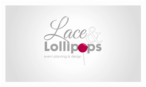 Logo Design by Lulu Creative - Lace and Lollipops Logo Design