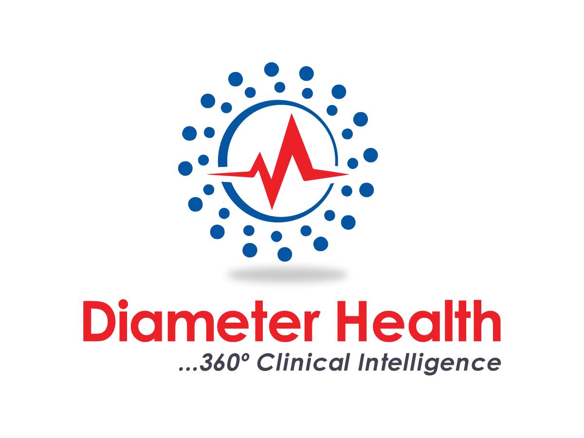 Modern Upmarket Healthcare Logo Design For Diameter Health