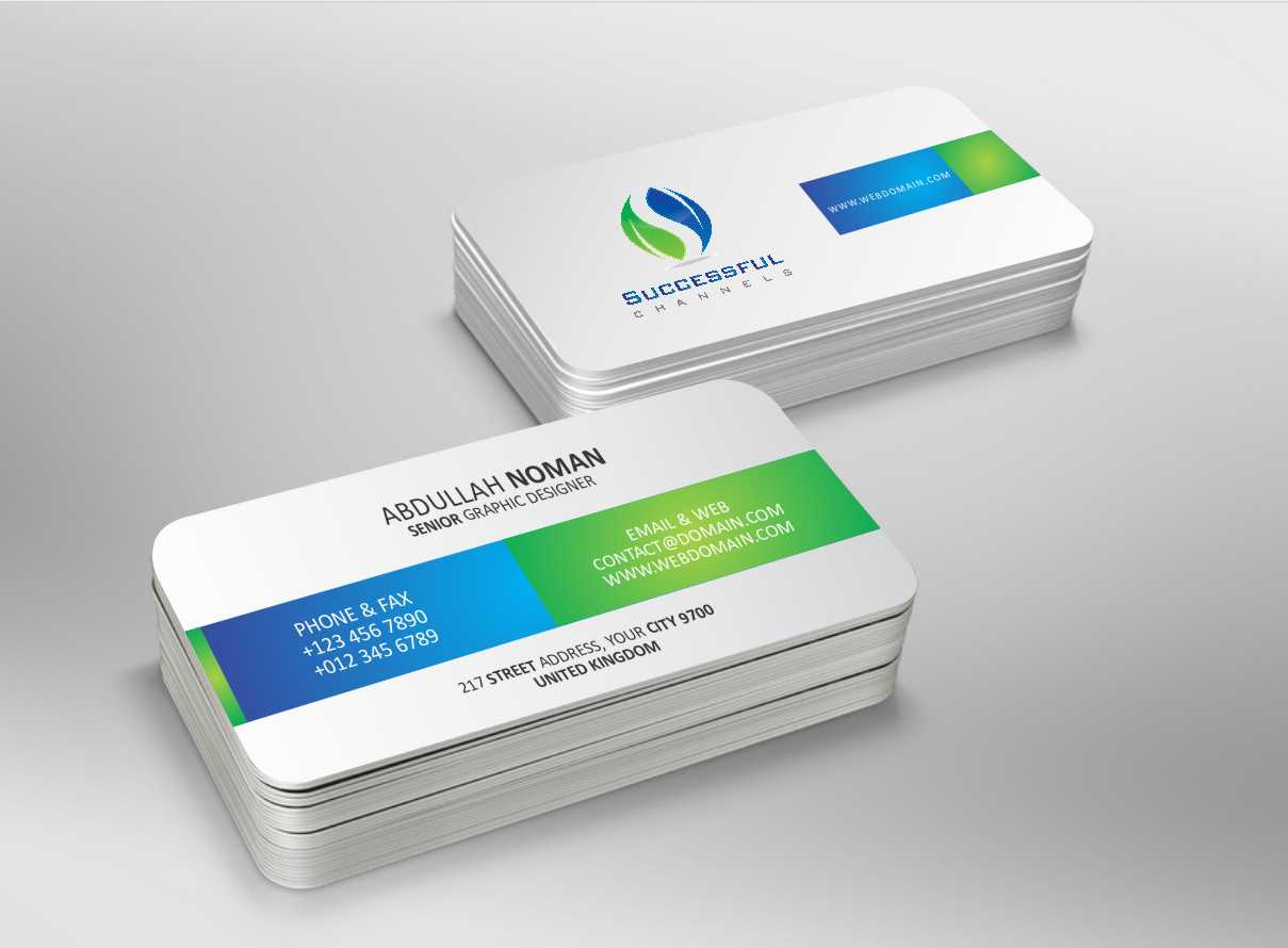 Serious, Modern, Advertising Business Card Design for a Company by ...